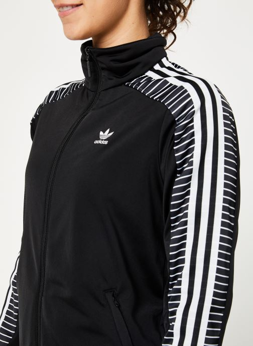 Kläder adidas originals Track Top Svart bild från framsidan