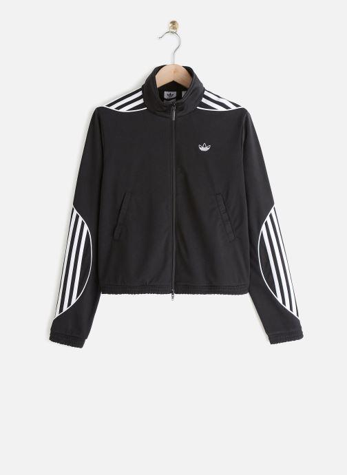 Vêtements adidas originals Track Top Noir vue détail/paire