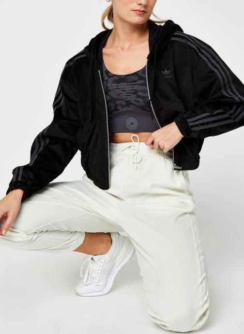 Vêtements adidas originals Track Top Noir vue bas / vue portée sac
