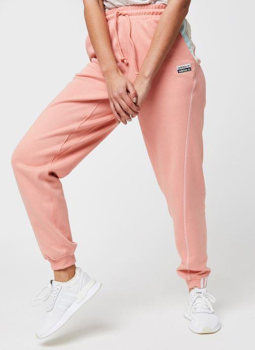 Vêtements adidas originals Pant Rose vue détail/paire