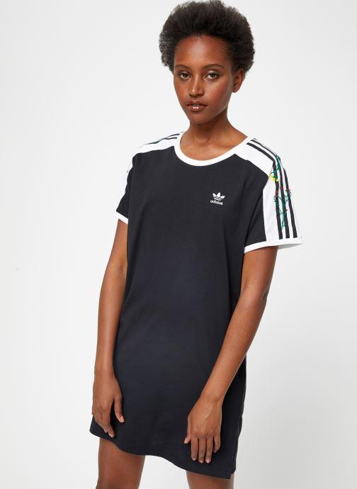 Vêtements adidas originals Dress Noir vue détail/paire