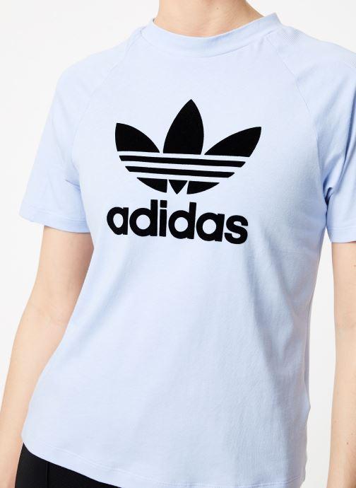 Ropa Adidas Originals Regular Tee Azul vista de frente