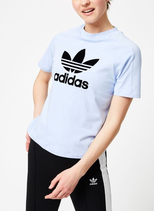 Ropa Adidas Originals Regular Tee Azul vista lateral derecha