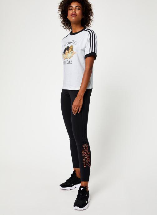Vêtements adidas originals Tights Noir vue bas / vue portée sac