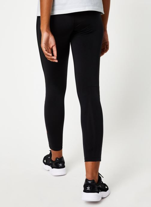 Vêtements adidas originals Tights Noir vue portées chaussures