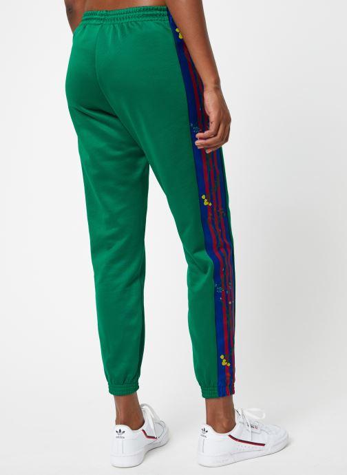 Vêtements adidas originals Track Pants Vert vue portées chaussures