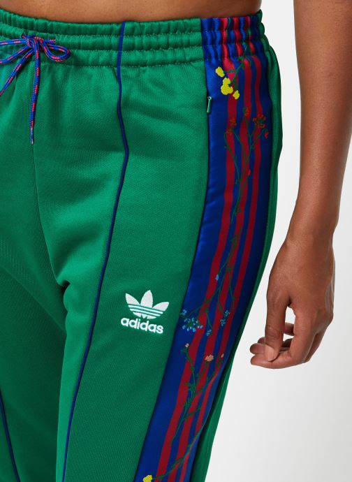 Vêtements adidas originals Track Pants Vert vue face