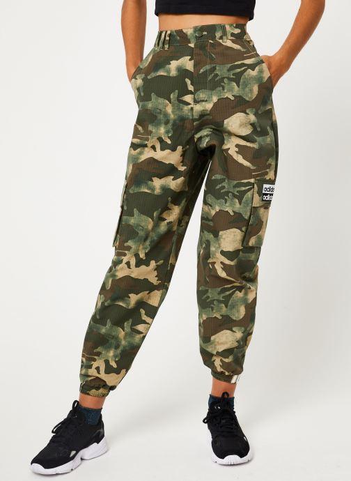 Vêtements adidas originals Track Pants Vert vue détail/paire