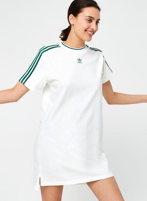 Vêtements adidas originals Tee Dress Beige vue détail/paire