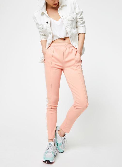 Vêtements adidas originals Sst Tp Rose vue bas / vue portée sac
