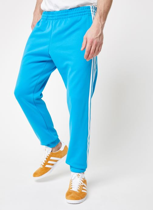 Vêtements adidas originals Sst Tp Bleu vue détail/paire