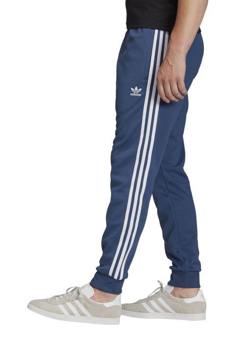 Vêtements adidas originals Sst Tp Bleu vue face