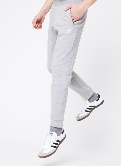 Vêtements adidas originals Trefoil Pant Gris vue détail/paire