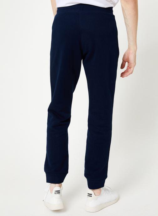 Vêtements adidas originals Trefoil Pant Bleu vue portées chaussures