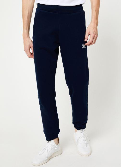 Vêtements adidas originals Trefoil Pant Bleu vue détail/paire