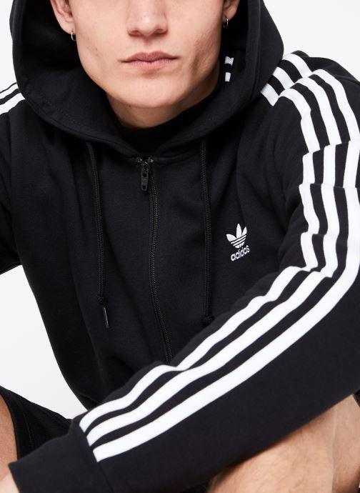 Vêtements adidas originals 3-Stripes Fz Noir vue détail/paire