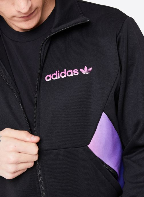 Vêtements adidas originals Degrade Tt Noir vue face