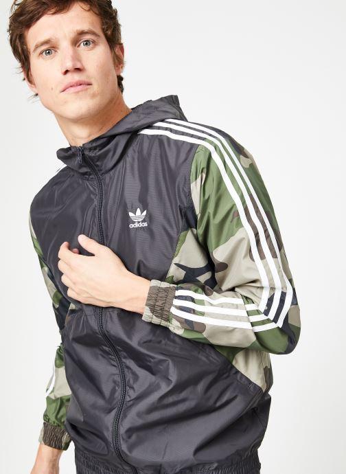 Kleding adidas originals Camo Wb Zwart detail