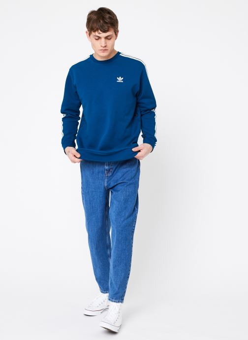 adidas originals Mono Crewneck (Bleu) - Vêtements (365168)