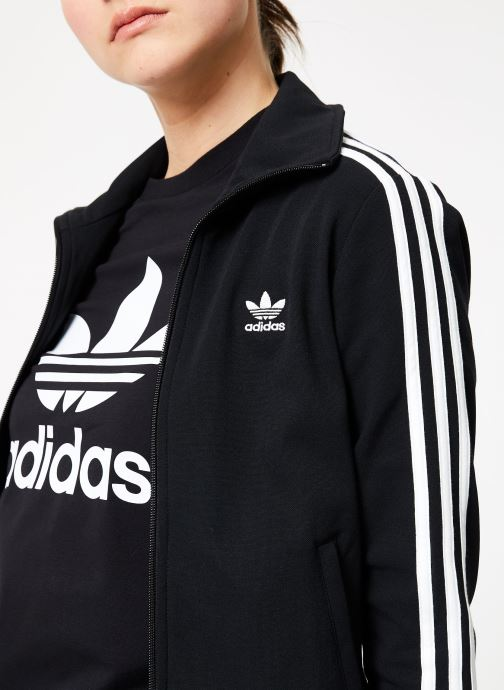 Vêtements adidas originals Tt Noir vue face