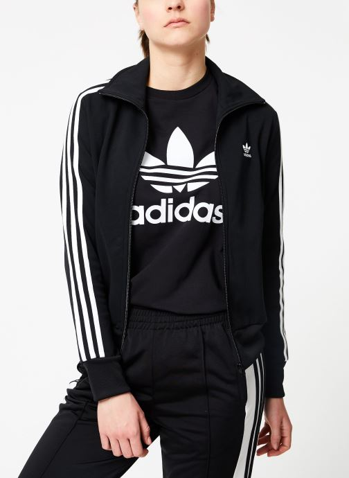 Vêtements adidas originals Tt Noir vue droite