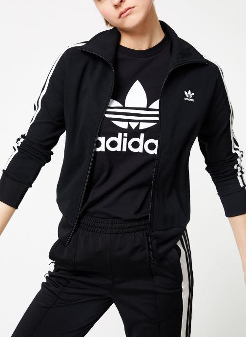 Vêtements adidas originals Tt Noir vue détail/paire