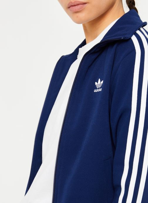 Vêtements adidas originals Tt Bleu vue face