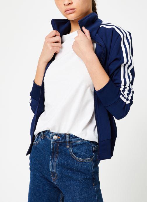 Vêtements adidas originals Tt Bleu vue droite