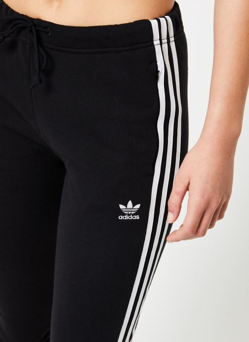 Kleding adidas originals Regular Tp Cuf Zwart voorkant