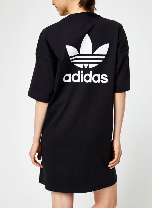 Kleding adidas originals Trefoil Dress Zwart model