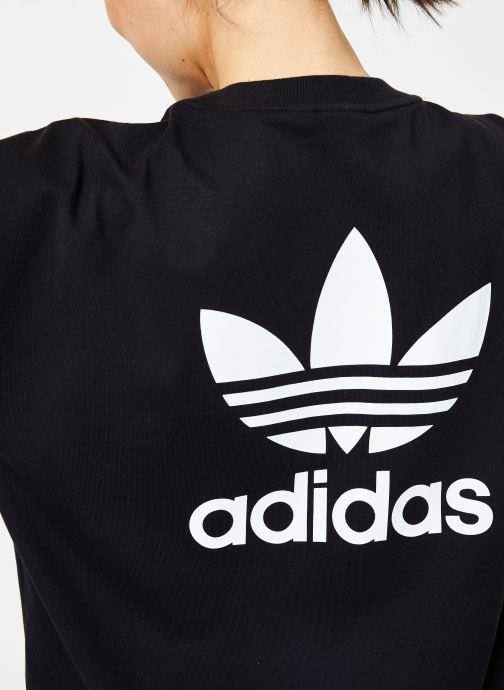 Kleding adidas originals Trefoil Dress Zwart voorkant