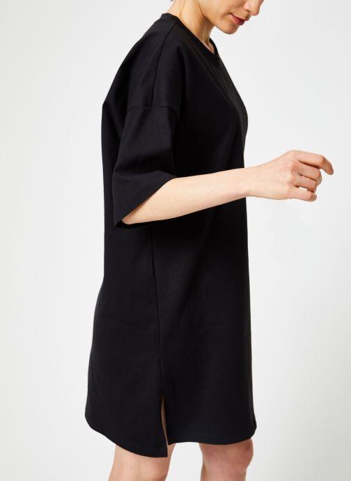 Vêtements adidas originals Trefoil Dress Noir vue droite