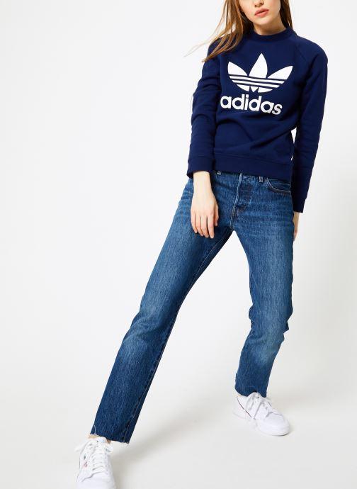 adidas originals Sweatshirt - Trf Crew Sweat (Bleu) - Vêtements (365193)