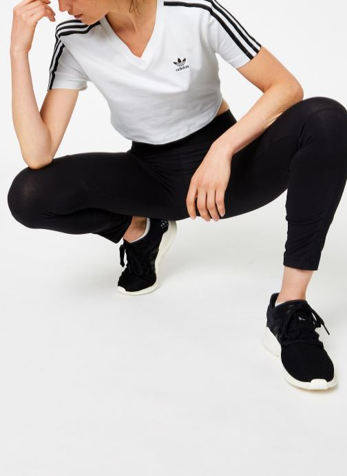 adidas originals T-shirt - Cropped Tee (Blanc) - Vêtements (365191)