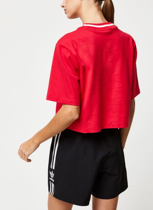 adidas originals T-shirt - Cropped Tee (Rose) - Vêtements chez Sarenza (417640) JtZnB
