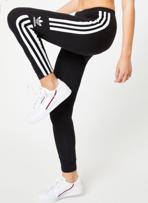 Vêtements adidas originals Trefoil Tight Noir vue détail/paire