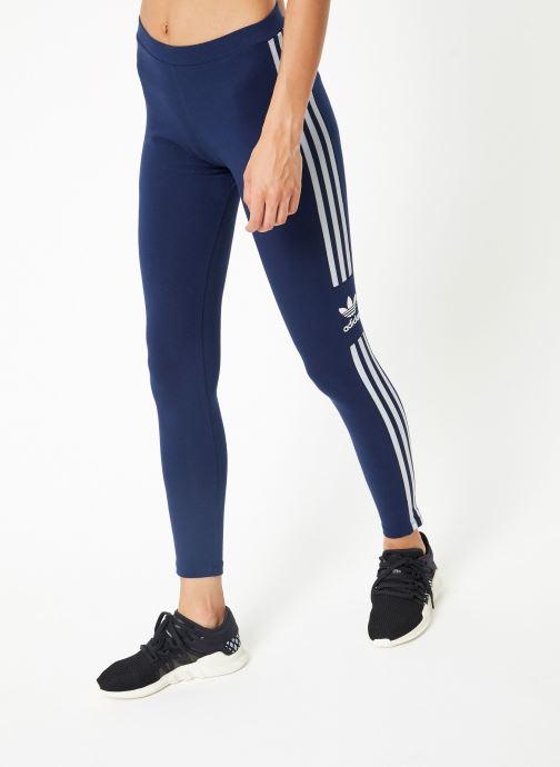 Vêtements adidas originals Trefoil Tight Bleu vue détail/paire