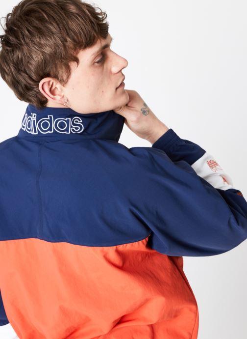 Vêtements adidas originals Blocked Warm Up Orange vue face