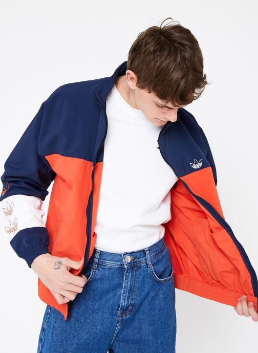 Vêtements adidas originals Blocked Warm Up Orange vue détail/paire