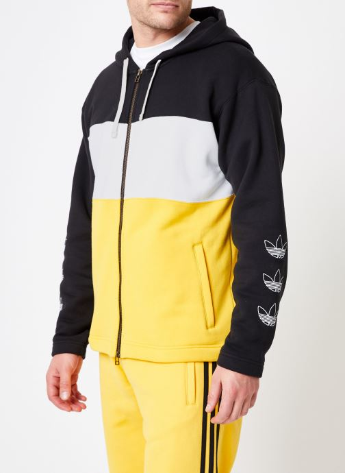 Kleding adidas originals Full Zip Hoody Multicolor rechts