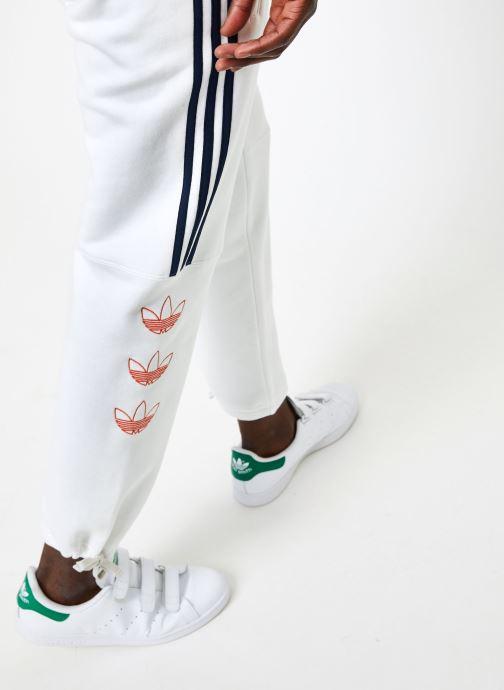Vêtements adidas originals Ft Sweatpant Blanc vue face