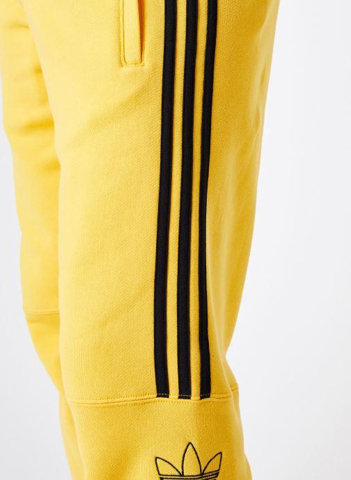 Vêtements adidas originals Ft Sweatpant Jaune vue face