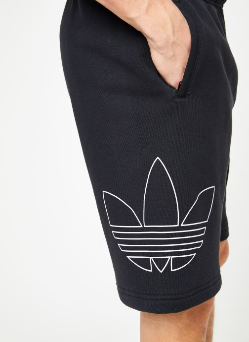 Vêtements adidas originals Ft Otln Short Noir vue face