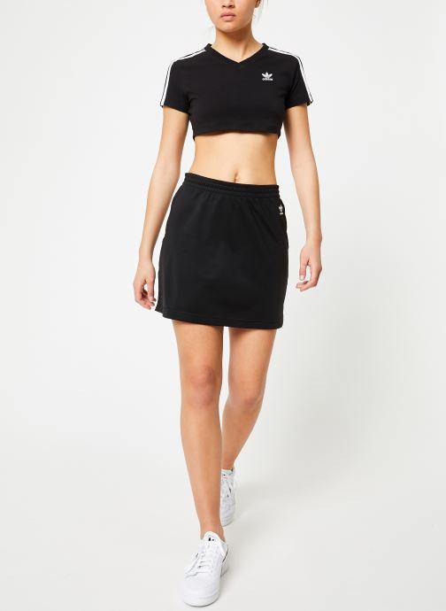 Kleding adidas originals Sc Skirt Zwart onder