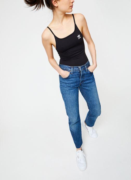 Vêtements adidas originals Sc Body Noir vue bas / vue portée sac