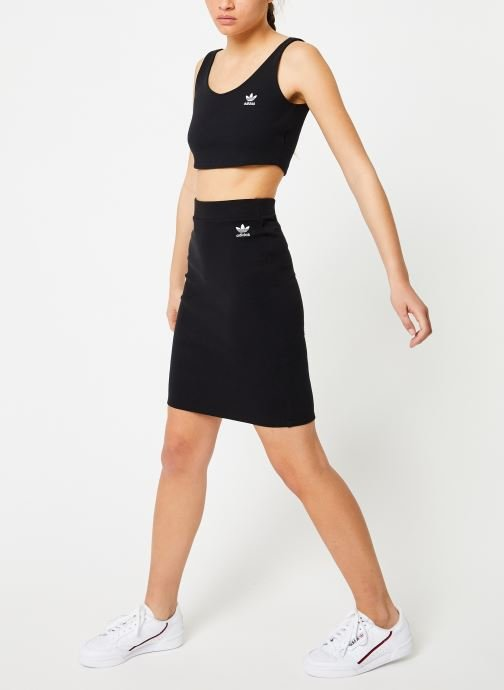 Kleding adidas originals Sc Midi Skirt Zwart onder