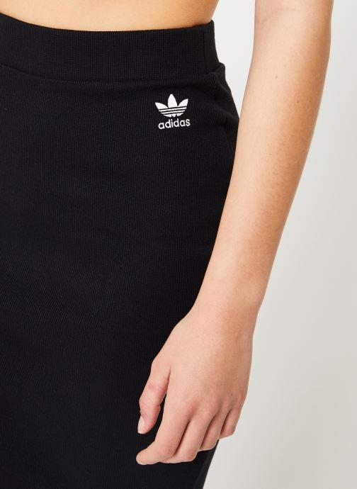 Tøj adidas originals Sc Midi Skirt Sort se forfra