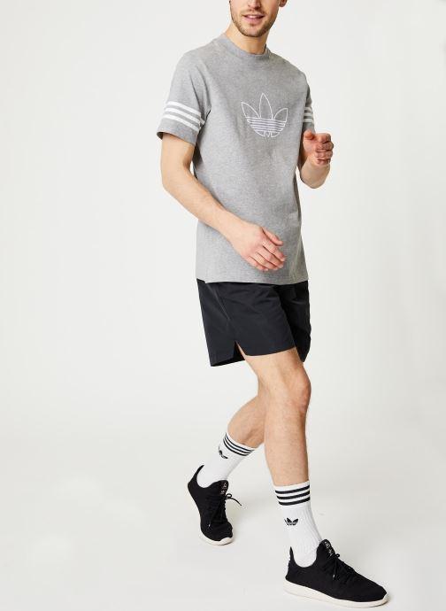 adidas originals T-shirt - Outline Tee (Gris) - Vêtements (433303)