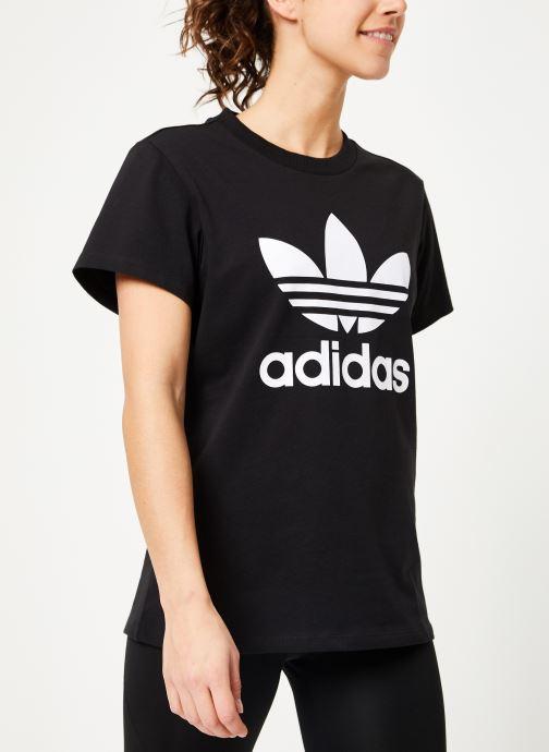 Kleding adidas originals Boyfriend Tee Zwart rechts