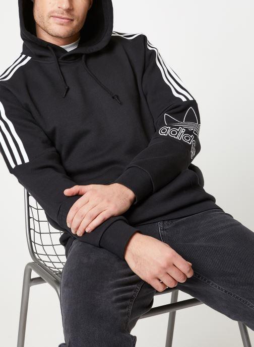 adidas originals Sweatshirt Outline Hoodie (Noir